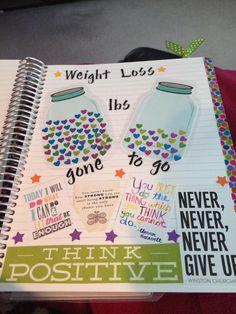 Weight loss page - from We Love EC Facebook page! #cute_fitness_tracker