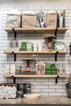 Joanna gaines open kitchen shelving magnolia floating shelves furniture the dos and of open shelving mark . Shelf Furniture, Kitchen Furniture, Home Furniture, Kitchen Decor, Repurposed Furniture, Furniture Removal, Joanna Gaines, Magnolia Kitchen, Modern Rustic Decor