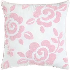 Dena Home Kiera Loop Stitches Reversible Square Pillow (€57) ❤ liked on Polyvore featuring home, home decor, throw pillows, pillows, decor, bedroom, cojin, filler, pink and pink throw pillows