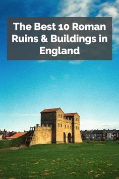 History lovers and explorers will love visiting these ancient buildings and ruins, which were built when the Romans conquered England!