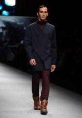 Blue Minimal Futuristic Jacket by JA on Meet My Designer