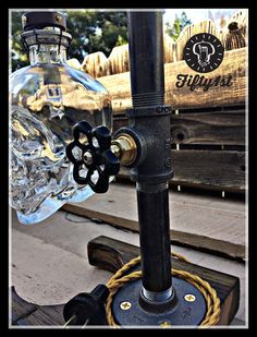 Industrial Table Lamp Max outlet table lamp steampunk by Fifty1st