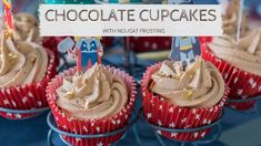 Recipe: Chocolate cupcakes with nougat frosting ⋆ MoniaMagdalena