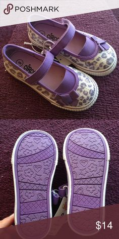 Girls Sequined Animal Print Velcro Flats Sequined! Brand new! Too small for my four year old. I bought them in advance and forgot Circo Shoes Sneakers