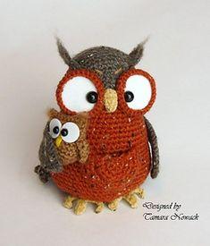 Marsupial Owl Tweedette by Tamara Nowack
