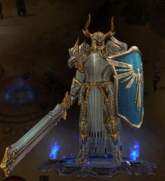 diablo 3 crusader concept art - Google Search