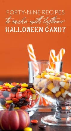 Have an abundance of candy that you need to do something with? These 49 recipes to make with leftover Halloween candy are the perfect solution!