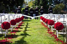 Deco de mariage avec boules de fleurs - MARIAGE ORIGINAL