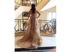 Aishwarya Rai Bachchan dazzles in gold at Cannes 2016 Deep Red Lips, Aishwarya Rai Bachchan, Winged Eyeliner, Prom Dresses, Formal Dresses, Elie Saab, Cannes, Red Carpet, Ballet Skirt