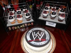 Love the cupcakes in the ring. My kids have a couple rings i think i'll do this too