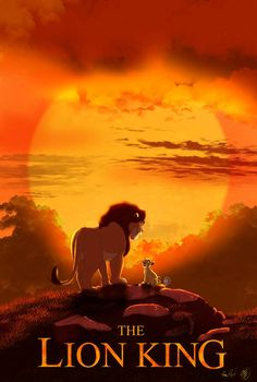 2019TheLionKing poster(animation version) by sasamaru-lion