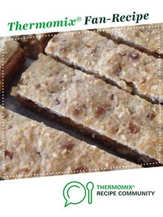 Recipe Fruit Bars with Oats (toddlers & babies) by learn to make this recipe easily in your kitchen machine and discover other Thermomix recipes in Baby food. Toddler Food, Toddler Meals, Baby Food Recipes, Cooking Recipes, Fruit Bars, Noah, Thermomix Desserts, Oat Bars, Bebe