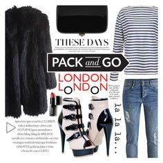 """""""Pack and Go: London"""" by fernandamaverick ❤ liked on Polyvore featuring Wood Wood, Sonia Rykiel, Rocio, Forever 21, women's clothing, women, female, woman, misses and juniors"""