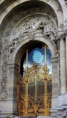 Front Entrance Of The Petite Palais In Paris | France | Photo By Andrew Fare