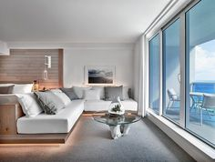 Occupying an entire city block on Collins Avenue, 1 Hotel South Beach sits directlyon 600 feet of pristine beachfront. 1 Hotel South Beach offers unparalleled views ofthe Atlantic ocean, Miami's natural paradise, Biscayne Bay and...