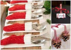 Här får du 20 roliga idéer på hur du kan duka bordet till jul.