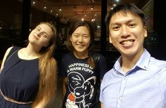Nice to see you girls again. Good luck next academic year!