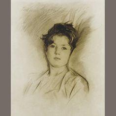 John Singer Sargent, portrait of David Tennant