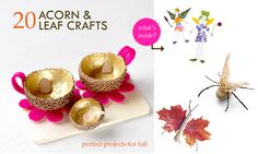 Falling Down: 20 Autumn Crafts