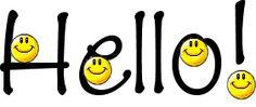 Hello with 4 smiley faces - gif Emoji Images, Emoji Pictures, Funny Emoticons, Funny Emoji, Good Morning Picture, Morning Pictures, Comic Cat, Emoticon Faces, Smiley Faces