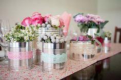 flores na lata