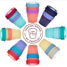 """Good news! Happy to share that the brand new KeepCup """"Tasting Notes"""" range is now available from @brewcafebakery and @mrbakersbakeshop! Drop by and check them out! #reuserevolution #salutethereuser    #repost @keepcup """"Introducing the brand new KeepCup T A S T I N G N O T E S colour series. Tasting Notes takes inspiration from the @specialtycoffeeassociation coffee tasters flavour wheel."""" #espresso #keepcup #stayroasted #coffeetime #coffeelover #coffeesesh #coffeeculture #coffeegeek…"""