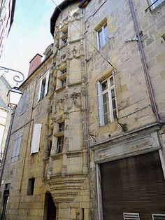 Brive la Gaillarde (Corrèze) - Maison dite Tour des Echevins - 1500-1520