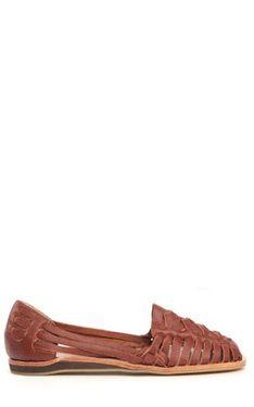 bcdd5f7a6a9e ecuador huarache sandal in burnt sienna - the perfect shoe-CF