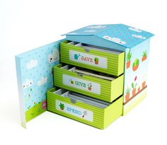 The Piggy Box for Kids Giveaway Open to: United States Ending on: Kids Boxing, Piggy Bank, Toy Chest, Personalized Gifts, Giveaway, Decorative Boxes, Organization, Organize Kids, Natural Design