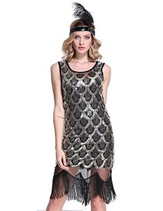 PrettyGuide Women 20s Art Deco Sequin Fishscale Tassel Hem Flapper Party Dress Gold S PrettyGuide http://www.amazon.com/dp/B0177Y337I/ref=cm_sw_r_pi_dp_9B-Nwb1R02JKJ