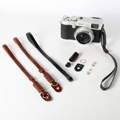 3 Colors PU Leather Camera Hand Wrist Strap Wrist Lanyard For Sony Nikon Panasonic SLR Camera EDC Portable Keychain Tool Lanyard