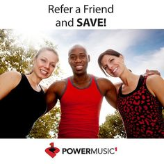 Have you heard about our #PowerMusic1 Refer-a-Friend Program? Every friend you refer earns you a FREE month of Power Music 1. Refer 12 friends and get Power Music 1 FREE all year!