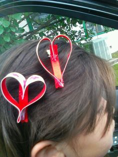 Heart clip for valentine