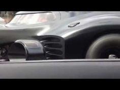 Chasing Batman in the Lamborghini Aventador