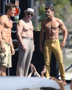 Zac Efron Shirtless 'Dirty Grandpa' Set - http://oceanup.com/2015/04/30/zac-efron-shirtless-dirty-grandpa-set/