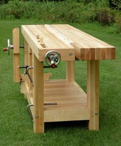 Tool Workbench, Tool Shop, Bench Stool, Wood Tools, Home Repairs, Picnic Table, Carpentry, Woodworking Projects, Workshop