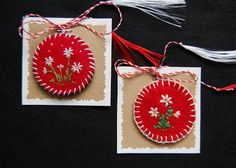 Cross Stitch Heart, Projects To Try, Christmas Ornaments, 8 Martie, Holiday Decor, Spring, Crochet, Handmade, Home Decor