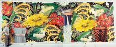 Big Bungalow Suite I, 1990-1993, Acrylic on canvas, 11 x 30 fr.Robert R. Zakanitch