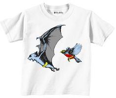 Batman and Robin T-shirt. Etsy.