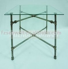 2011 Modernism 'pipe Collection' Glass Table - Buy Glass Table,Dining Table,Glass Furniture Product on Alibaba.com