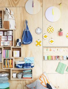 Colourful details from Hut 13's new store in Swan st, Richmond.  Photo - Eve Wilson. Via @The Design Files