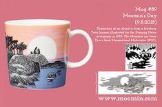 Moomin mug # 89 Moomin Mugs, Tove Jansson, Museum Exhibition, Porcelain Ceramics, Coffee Cups, Original Artwork, Sketches, The Originals, Tableware
