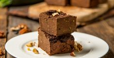 Decadent fudge-y brownies can also be fiber and protein-rich. Have your guests guess the two surprising ingredients—black beans and zucchini.
