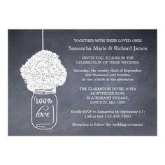 @@@Karri Best price          Elegant Hydrangea & Mason Jar Chalkboard Wedding Invitations           Elegant Hydrangea & Mason Jar Chalkboard Wedding Invitations you will get best price offer lowest prices or diccount couponeReview          Elegant Hydrangea & Mason Jar Chalkboard Wedd...Cleck link More >>> http://www.zazzle.com/elegant_hydrangea_mason_jar_chalkboard_wedding_invitation-161095268891481356?rf=238627982471231924&zbar=1&tc=terrest