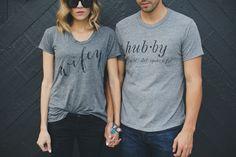 wifey and hubby tee