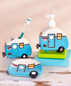 Retro Camping Bathroom Collection | LTD Commodities