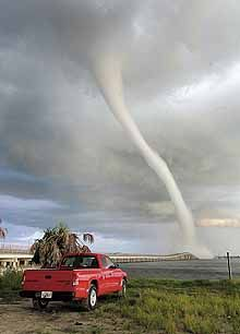 Waterspout over Charlotte Harbor Fl