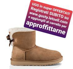 UGG Marrone Main fabric: 100% Pelle Interno: 100% lana Suola