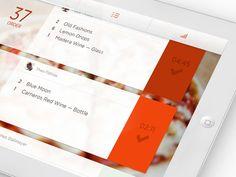 WIP Bar App — Feedback needed :)