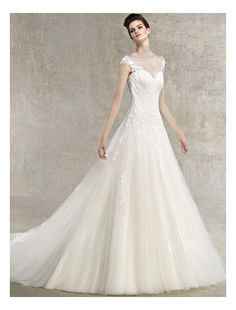wedding dresses sweetheart neckline straps - Google Search